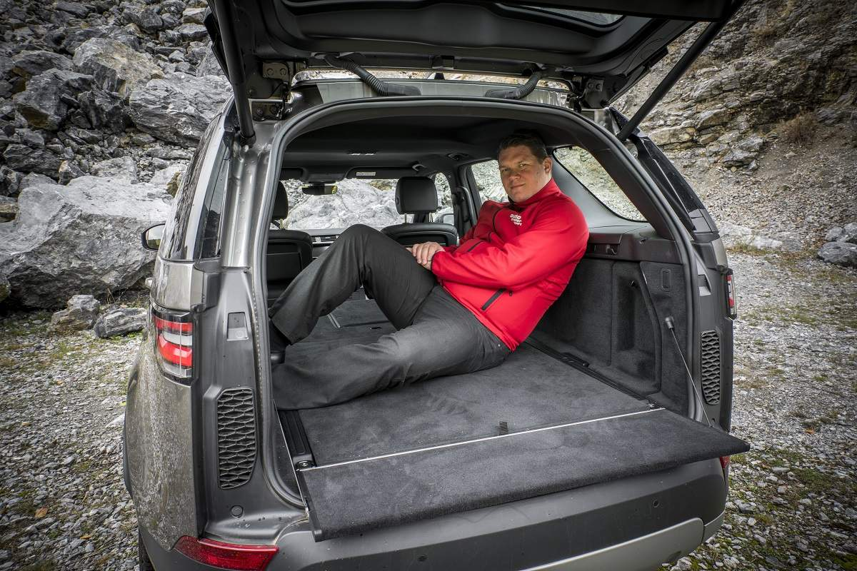 Test Land Rover Discovery 2.0D SD4 HSE (foto: Tomás Kelement)