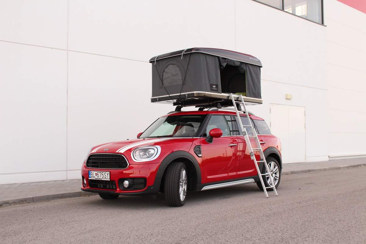 Test MINI Countryman Cooper 1.5 TwinPower Turbo + Autohome (Foto: Erik Stríž 2018)