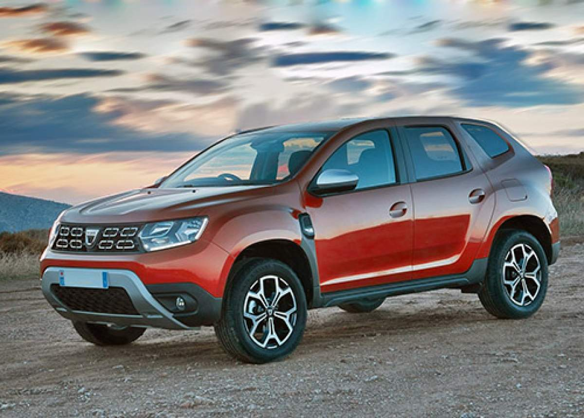 Dacia Duster Coupe, render 2019