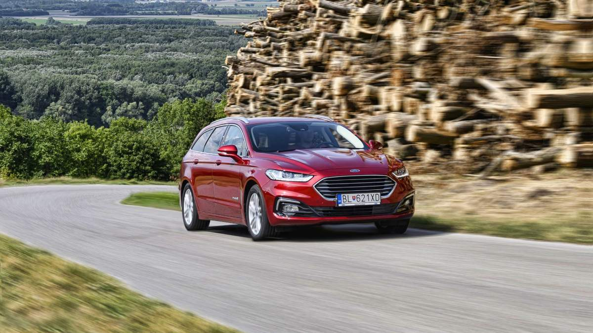 Ford Mondeo Hybrid (Facelift)