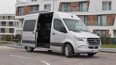 Test Mercedes-Benz Sprinter Tourer 319 CDI: Žiadna nuda