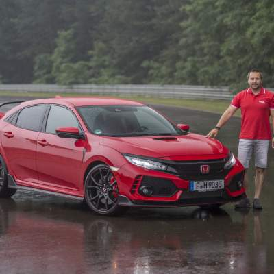 TEST Honda Civic Type R - Nürburgking