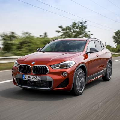 Test BMW X2 2.0i sDrive: Marketing