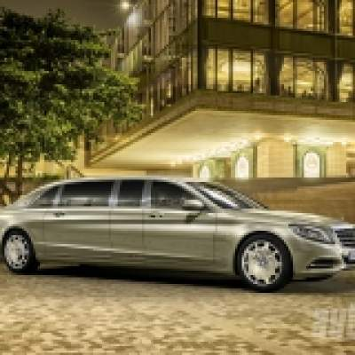 Mercedes-Maybach Pullman: 6,5 metra luxusu