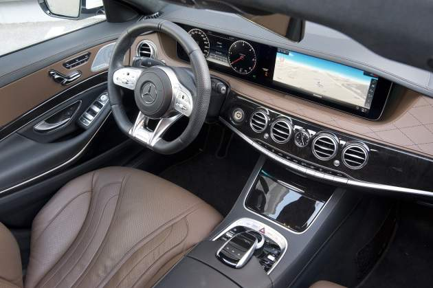 Test Mercedes-Benz S400 d (2017) (foto: PANER)