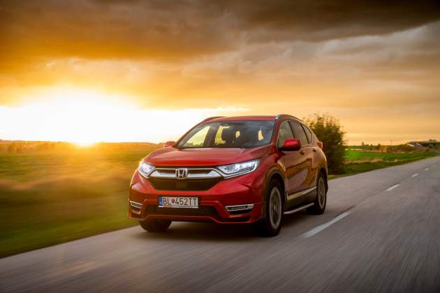 Honda CRV Test