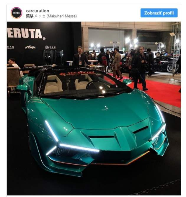 "Lamborghini Aventador ""eyeless kit"", Tokio Auto Salon 2019 (foto: Live to Offend, Khyzyl Saleem)"