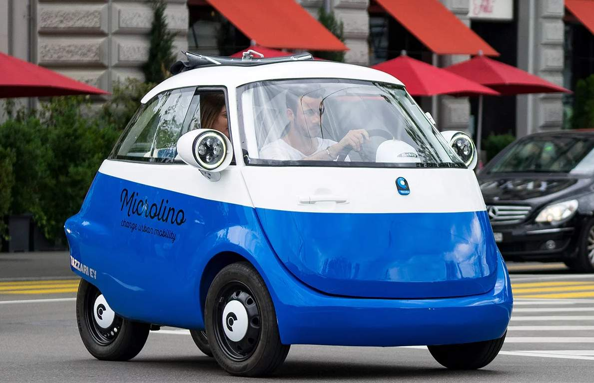 Legendary Isetta Returns As An Electric Car With An Incredibly Low