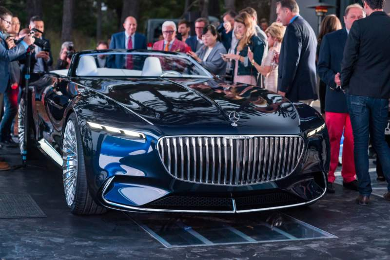 Mercedes-Maybach 6 Cabriolet (2017)