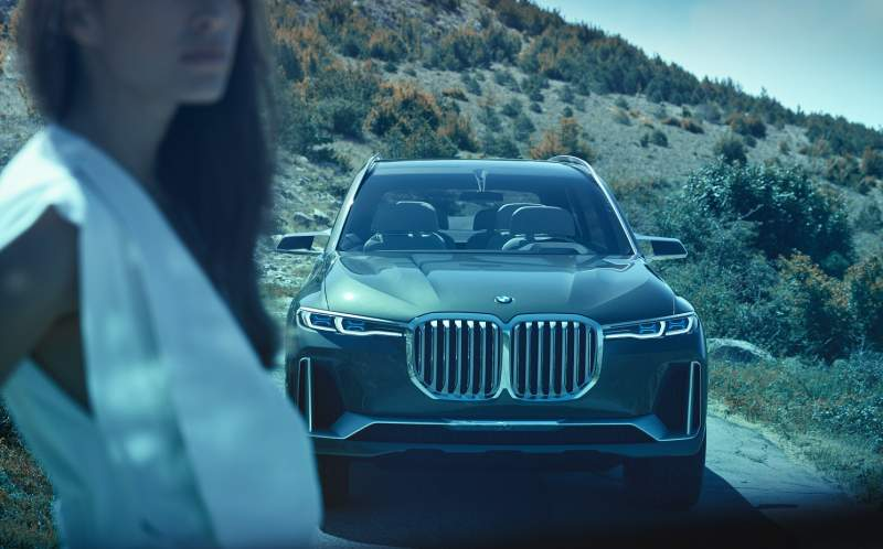BMW X7 iPerformance (koncept 2017)