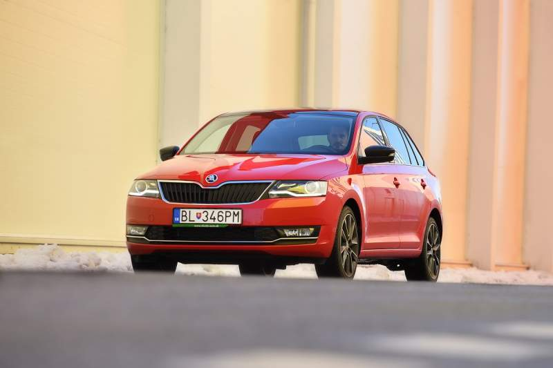 Škoda Rapid Spaceback (test 2017, foto: PANER)