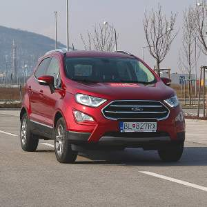 Test Ford Ecosport 1.0 Ecoboost: Celkom iné SUV