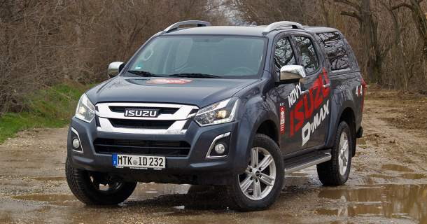 Test Isuzu D-Max Double Cab