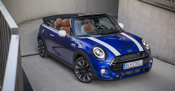 Test Mini Cooper S Cabrio: Pubertiak