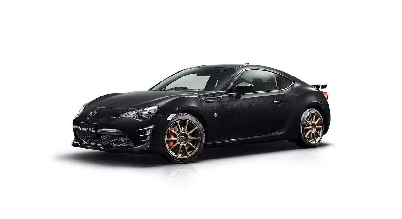Toyota GT86 Black Limited (2020)