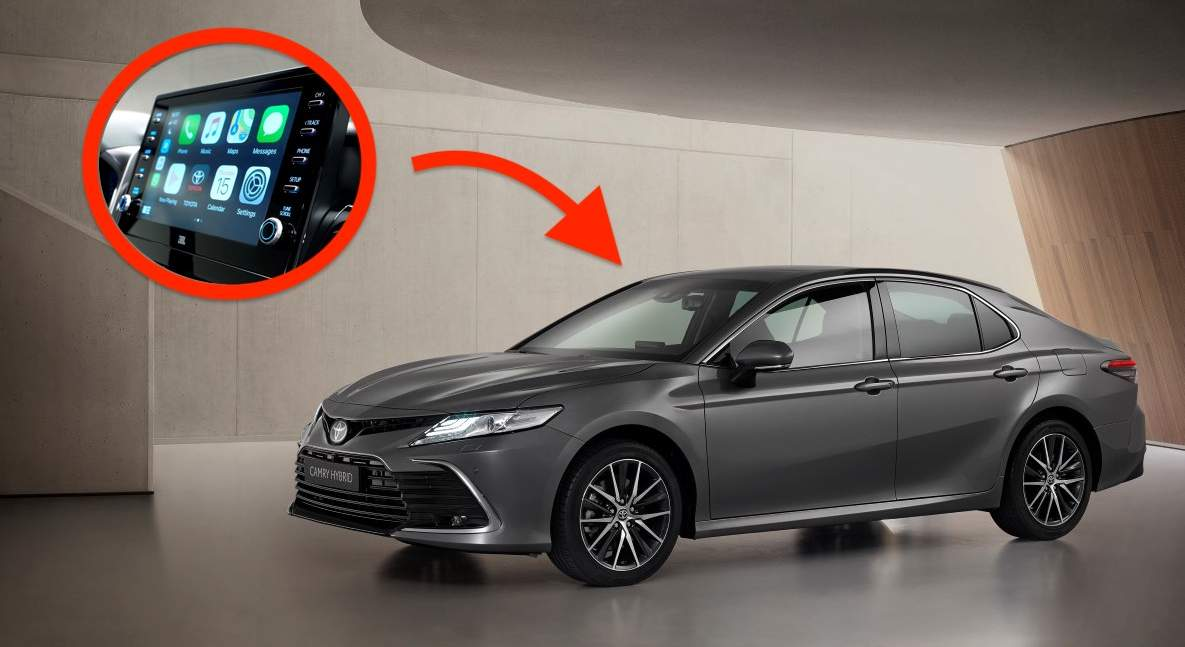 Toyota Camry (facelift 2021)