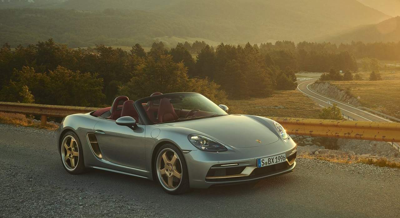 Porsche Boxster 25 Years Edition (2021)