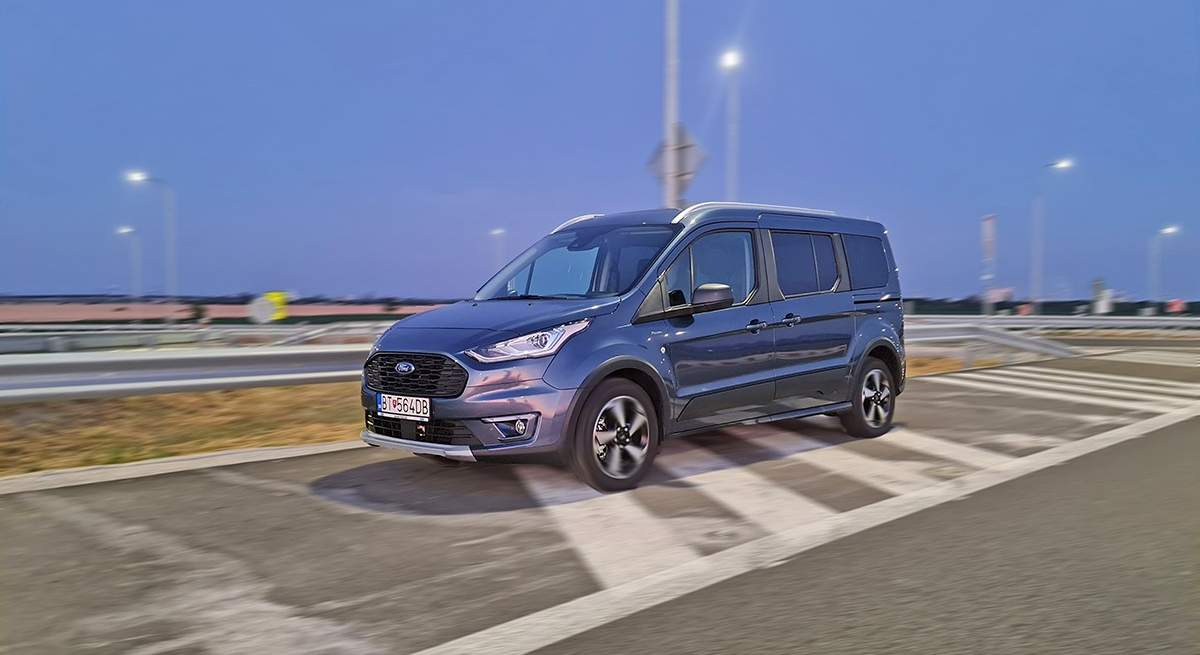 Test Ford Grand Tourneo Connect Active 1.5 TDCi mLSD (jún 2021)
